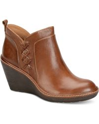 Söfft - Carminda Wedge Booties - Lyst