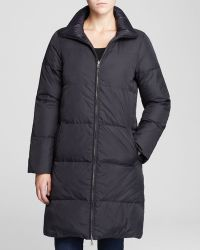 Eileen Fisher Petites Down Puffer Coat - Lyst