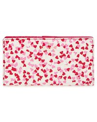 Kate Spade   'stacy' Confetti Print Wallet   Lyst