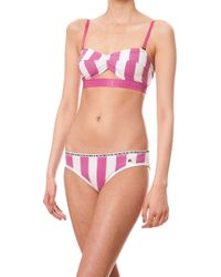 House of Holland - Deckchair Bra And Bikini - Lyst
