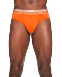 CALVIN KLEIN 205W39NYC - 'magnetic Force' Microfiber Hip Briefs - Lyst