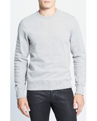Surface To Air '3D' Quilted Sweatshirt - Lyst