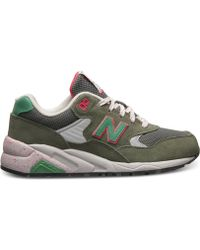 New Balance Women'S 580 Elite Tomboy Casual Sneakers From Finish Line green - Lyst