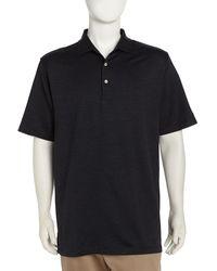 Peter Millar Donigan Dotted Golf Shirt - Lyst