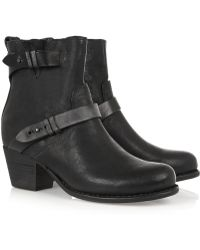 Rag & Bone Harper Leather Ankle Boots - Lyst
