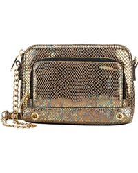 MILLY - El Dorado Mini Crossbody-gold - Lyst