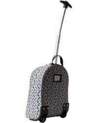 Dolce & Gabbana - Printed Canvas Roller Bag - Lyst