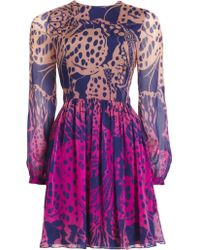 Matthew Williamson Wing Lace Boho Dress - Lyst