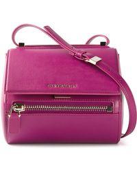 Givenchy Small 'Pandora' Crossbody Bag purple - Lyst