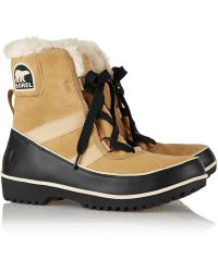 Sorel Tivoli Ii Waterproof Suede and Leather Boots - Lyst