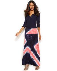 Inc International Concepts Petite Tie-dye Maxi Skirt - Lyst