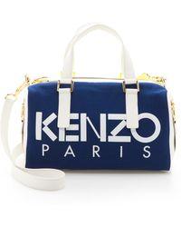 Kenzo Kanvas Speedy Bag - Cobalt - Lyst