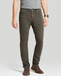 Raleigh Denim Jeans - Martin Slim Fit In Gunmetal - Lyst