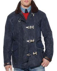 Ralph Lauren Polo Oilcloth Firemans Jacket - Lyst