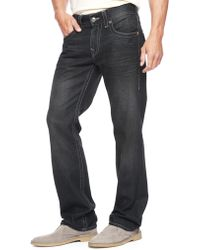 True Religion Hand Picked Straight Natural Stitch Mens Jean - Lyst