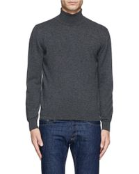 Canali Turtleneck Sweater - Lyst