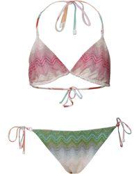 Missoni Mare Triangle Bikini - Lyst