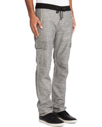 7 For All Mankind Knit Cargo - Lyst