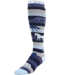 Ariat - Lineage Horse Socks Knee High - Lyst