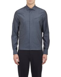 Façonnable - Contoured-seam Shirt - Lyst