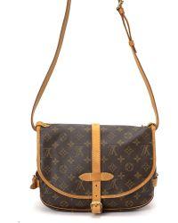 Louis Vuitton Monogram Saumur 30 Shoulder Bag - Lyst