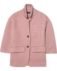 Burberry Prorsum - Knitted Cashmereblend Jacket - Lyst