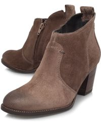Paul Green Leigh Mid Heel Boots - Lyst