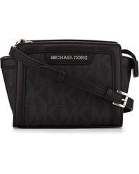 MICHAEL Michael Kors Selma Mini Messenger Bag - Lyst