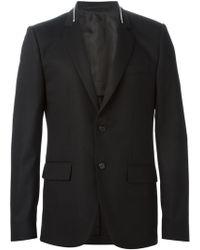 Givenchy Zip Collar Blazer - Lyst
