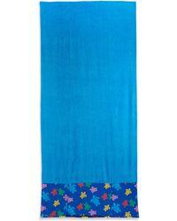 Vilebrequin Turtle Print Towel blue - Lyst