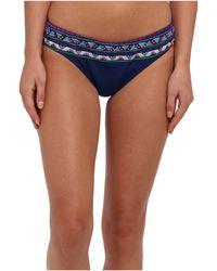 Nanette Lepore Costa Del Sol Charmer Hipster Bottom - Lyst