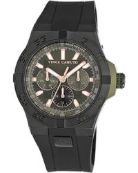 Vince Camuto - Black Stainless Steel Chronograph, Vc1010gnbk - Lyst