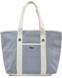 Lacoste - Summer Stripes Tote - Lyst