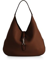Gucci Jackie Soft Leather Hobo Bag - Lyst