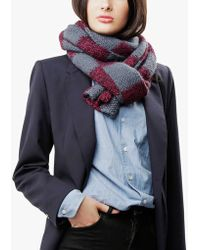 Wool And The Gang Check It Out Scarf - Lyst