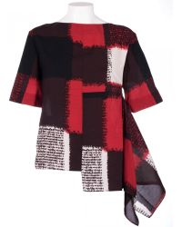 Marni Red Viscose Multicolor Sweater red - Lyst