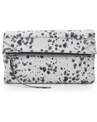 She + Lo - 'rised Above' Foldover Clutch - Lyst