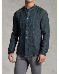 John Varvatos Wing Collar Sport Shirt - Lyst