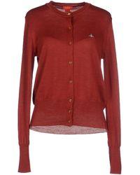 Vivienne Westwood Red Label Cardigan red - Lyst