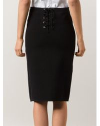 Rag & Bone Roxy Pencil Skirt - Lyst