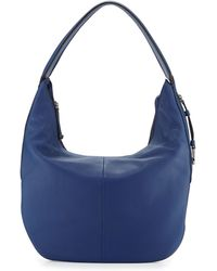 Halston Leather Slouch Hobo Bag - Lyst