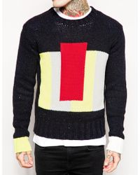 Diesel Kechu Crew Neck Sweater - Lyst