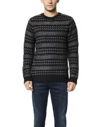 Native Youth - Dimensional Pattern Knit Sweater - Lyst