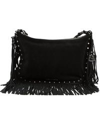 Michael by Michael Kors Medium Billy Fringe Shoulder Bag - Lyst
