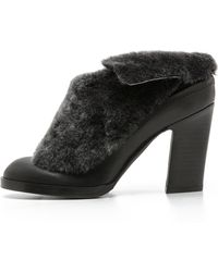 Rag & Bone Black Hailey Mules   - Lyst