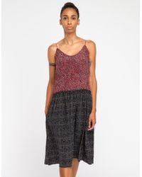 Apiece Apart Phebe Slip Dress in Print - Lyst
