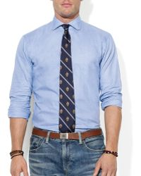 Ralph Lauren Polo Glen Plaid Estate Shirt Slim Fit - Lyst