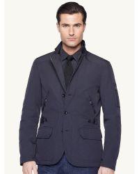 Ralph lauren Military Sport Coat in Blue for Men | Lyst