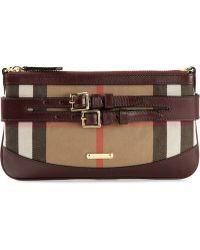 Burberry Peyton Cross Body Bag - Lyst