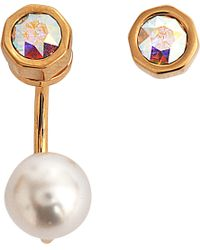 Maria Francesca Pepe - Orbital Asymmetric Earrings - Lyst
